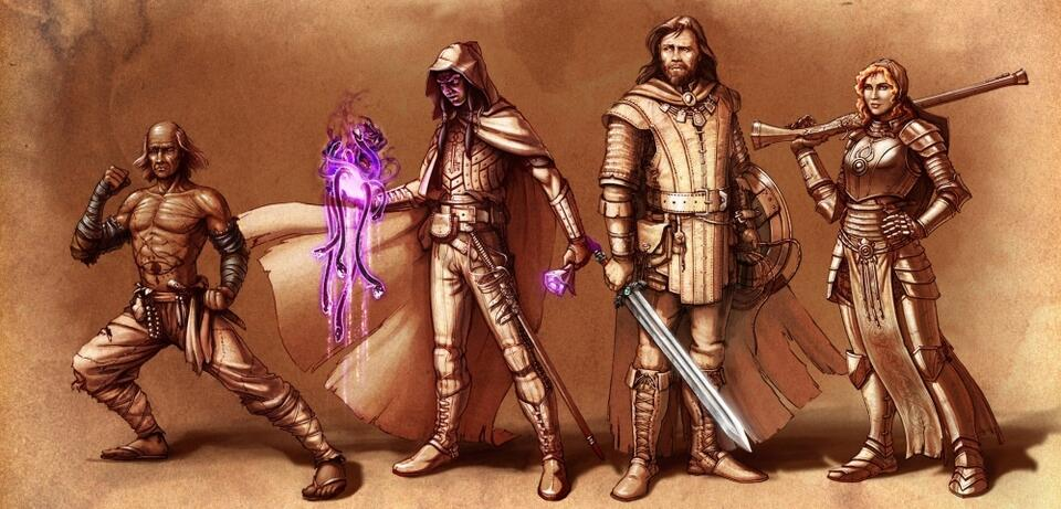 Ein Artwork zu Pillars of Eternity