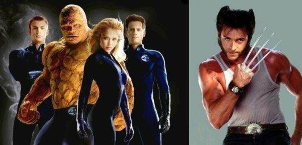 Fantastic Four und Wolverine