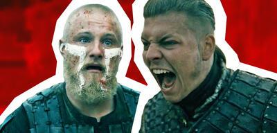 Björn und Ivar in Vikings