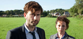 David Tennant und Olivia Colman in Broadchurch