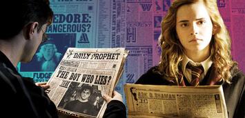 Bild zu:  Harry Potter - Der Tagesprophet birgt Geheimnisse