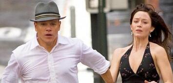 Bild zu:  Emily Blunt und Matt Damon in Der Plan
