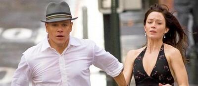 Emily Blunt und Matt Damon in Der Plan