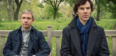 Sherlock: Martin Freeman und Benedict Cumberbatch