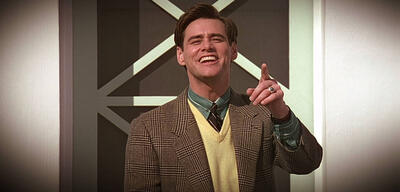Jim Carrey in Die Truman Show