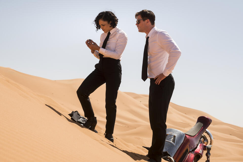 Men in Black: International mit Chris Hemsworth und Tessa Thompson