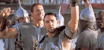 Gladiator-Star Ralf Moeller und Russell Crowe