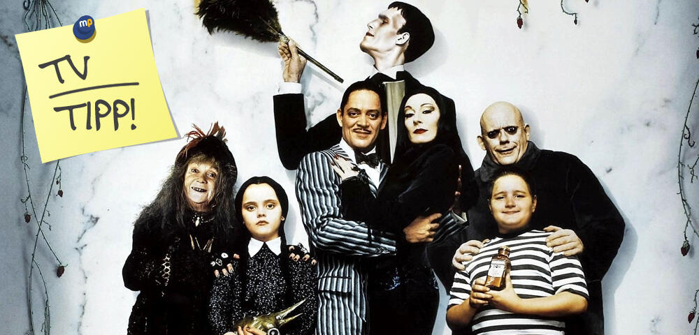 die addams family die makabre kultfamilie heute im tv news. Black Bedroom Furniture Sets. Home Design Ideas
