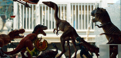Jurassic World 2: Das gefallene Königreich: Ein Compy versteckt sich im Merchandise