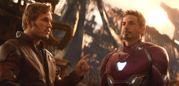 Bild zu:  Avengers 3: Infinity War: Star-Lord trifft auf Iron Man