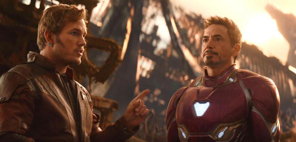 Avengers 3: Infinity War: Star-Lord trifft auf Iron Man