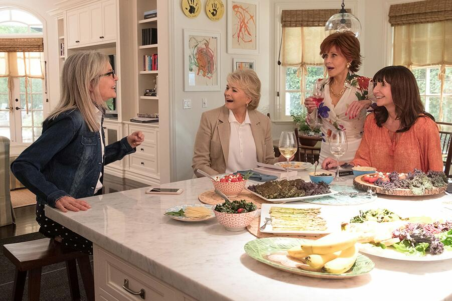 Book Club mit Diane Keaton, Jane Fonda, Mary Steenburgen und Candice Bergen
