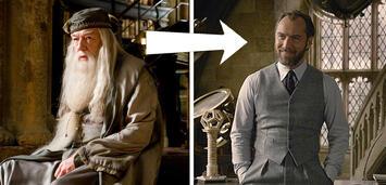 Bild zu:  Phantastische Tierwesen 2:Jude Law spielt Albus Dumbledore (hier noch in Sherlock Holmes)
