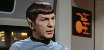 Bild zu:  Leonard Nimoy als Spock in Star Trek