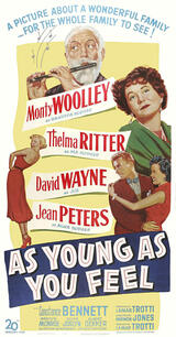 As Young as You Feel - Poster