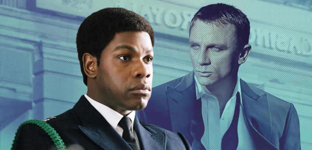 John Boyega und Daniel Craig