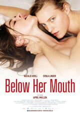Below Her Mouth - Poster