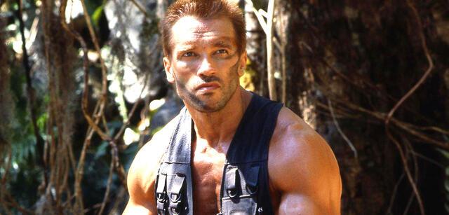 Arnold Schwarzenegger inPredator