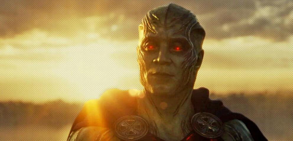 Martian Manhunter im Snyder-Cut von Justice League