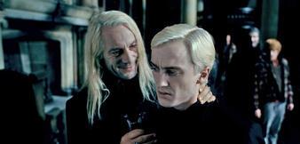 Die Malfoys in Harry Potter und die Heiligtümer des Todes Teil 1