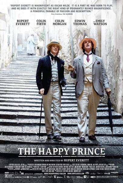 The Happy Prince mit Rupert Everett und Colin Morgan