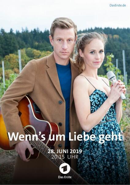 Wenn's um Liebe geht mit Maxim Mehmet und Inez Bjørg David