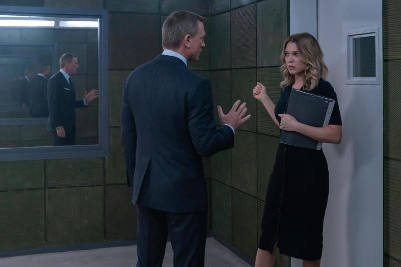 James Bond 007 - Keine Zeit zu sterben mit Daniel Craig und Léa Seydoux