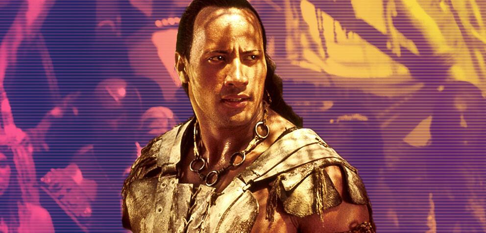 Dwayne Johnson als Scorpion King