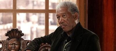 Morgan Freeman in Lucky#Slevin