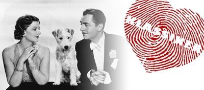 Myrna Loy und William Powell in Der Dünne Mann