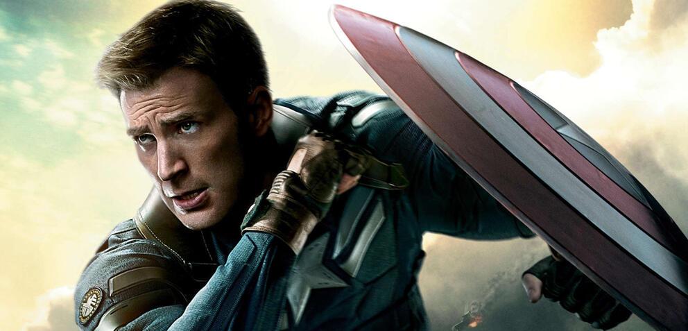 Captain America mit Schild