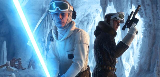 Luke Skywalker und Han Solo in Star Wars: Battlefront