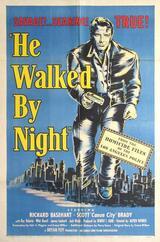 Schritte in der Nacht - Poster