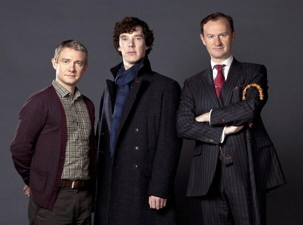 Sherlock: Ein Skandal in Belgravia mit Mark Gatiss