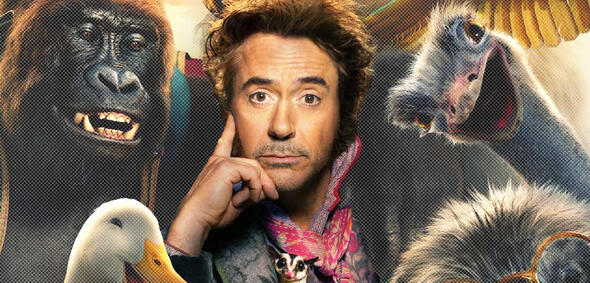Robert Downey Jr. alsDr. Dolittle