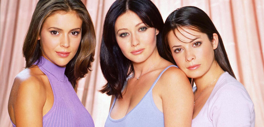 Alyssa Milano, Shannen Doherty und Holly Marie Combs in Charmed
