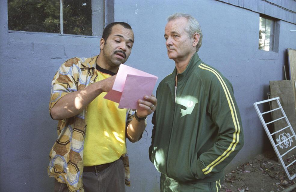 Broken Flowers mit Bill Murray und Jeffrey Wright