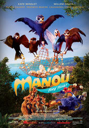 Manou - flieg' flink! Poster