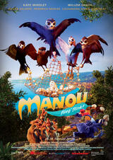Manou - flieg' flink! - Poster