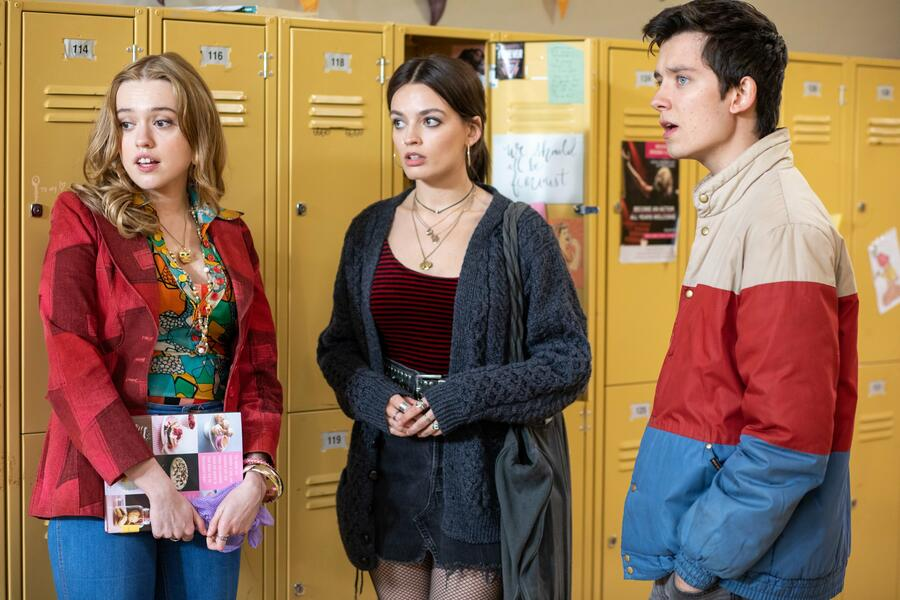 Sex Education - Staffel 2 mit Asa Butterfield, Emma Mackey und Aimee Lou Wood
