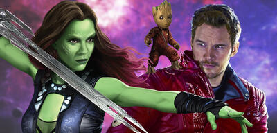 Guardians of the Galaxy: Gamora, Groot und Star-Lord