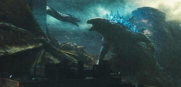 Godzilla sieht ein bisschen aus wie ein Drache