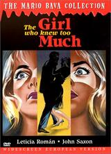 The Girl Who Knew Too Much - Poster