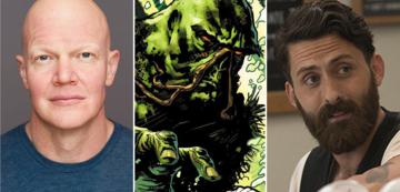 Derek Mears, Swamp Thing und Andy Bean