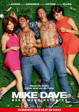 Mike and Dave Need Wedding Dates - Poster