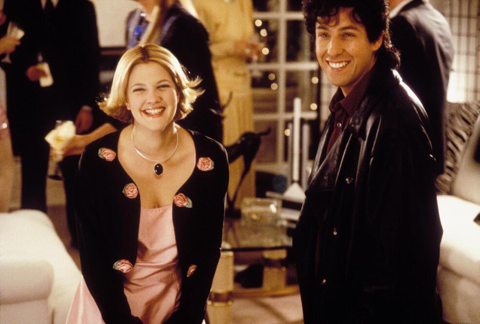 Eine Hochzeit zum Verlieben mit Adam Sandler und Drew Barrymore