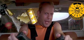 Bild zu:  Wer oder was ist Korben Dallas denn da ins Taxi gestürzt?