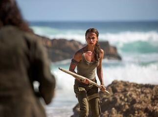 Alicia Vikander als Lara Croft