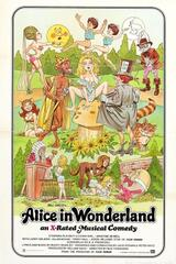 Alice in Wonderland: An X-Rated Musical Fantasy - Poster