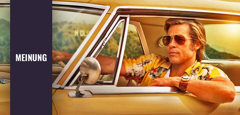 Once Upon a Time in Hollywood mit Brad Pitt
